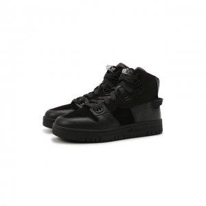 Комбинированные кроссовки Buxeda Acne Studios. Цвет: чёрный