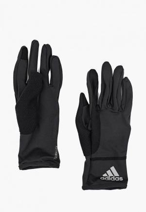 Перчатки adidas CLMLT GLOVES. Цвет: черный
