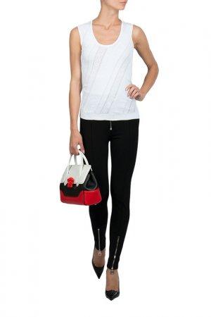 Майка Versace. Цвет: белый