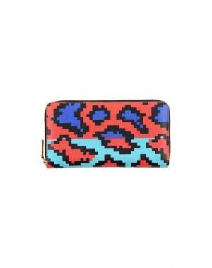 Бумажник AZZURRA GRONCHI. Цвет: красный