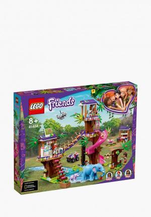 Конструктор LEGO Jungle Rescue Base. Цвет: разноцветный