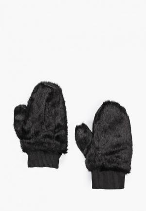 Варежки Vero Moda. Цвет: черный