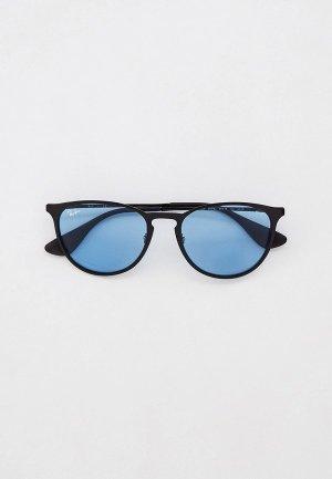 Очки солнцезащитные Ray-Ban® RB3539 002/Q2. Цвет: черный