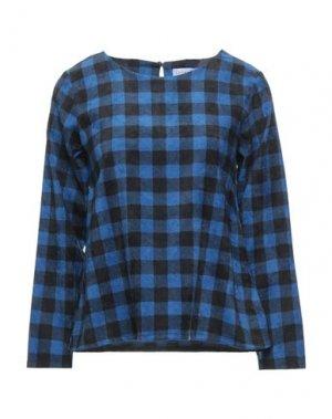 Блузка COMPAÑIA FANTASTICA. Цвет: синий