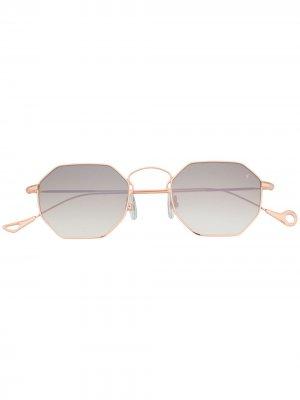 Солнцезащитные очки Claire Eyepetizer. Цвет: золотистый