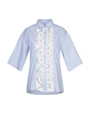 Pубашка CAFèNOIR. Цвет: лазурный