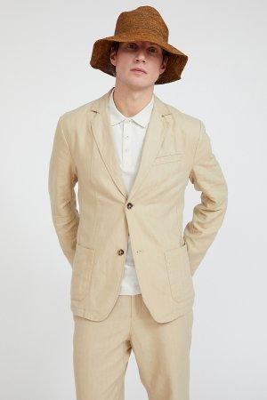 Пиджак мужской Finn-Flare. Цвет: песочный