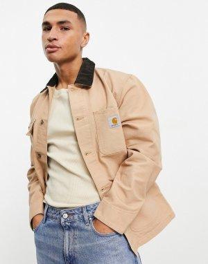 Коричневое пальто Michigan-Коричневый цвет Carhartt WIP