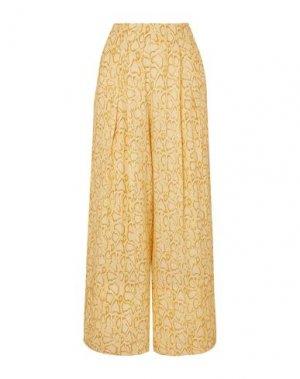 Пляжные брюки и шорты FAITHFULL THE BRAND. Цвет: желтый