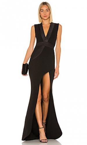 Вечернее платье nullarbor Zhivago. Цвет: черный