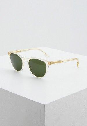 Очки солнцезащитные Burberry BE4310 385271. Цвет: прозрачный