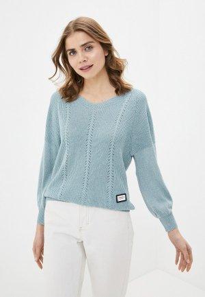 Пуловер Pavli. Цвет: бирюзовый