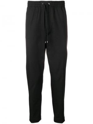 Классические брюки чинос Boss Hugo. Цвет: черный