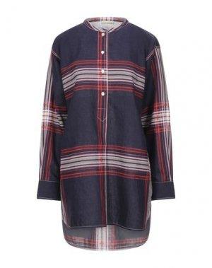 Блузка BY MALENE BIRGER. Цвет: темно-синий