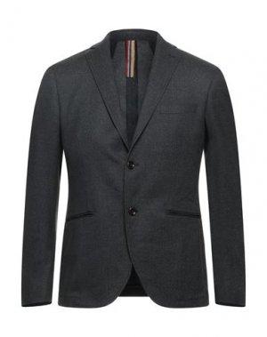 Пиджак SSEINSE. Цвет: стальной серый