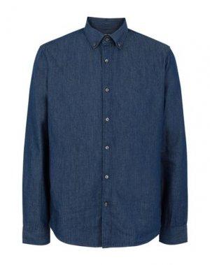 Джинсовая рубашка MICHAEL KORS MENS. Цвет: синий