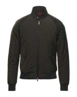 Куртка BARACUTA. Цвет: стальной серый