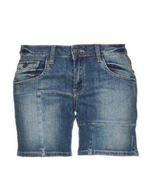 Джинсовые шорты DEPT. Цвет: синий