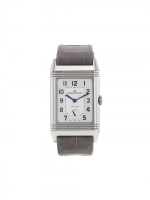 Наручные часы Grande Automatique pre-owned 27 мм 2010-го года Jaeger-LeCoultre. Цвет: серый