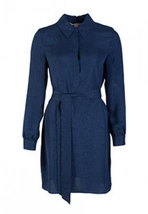 Платье DIANE VON FURSTENBERG. Цвет: синий