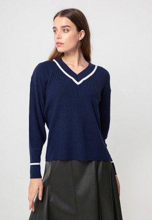 Пуловер BGN. Цвет: синий
