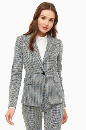 Пиджак Pinko. Цвет: полоска, серый