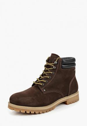Ботинки Jack & Jones. Цвет: коричневый