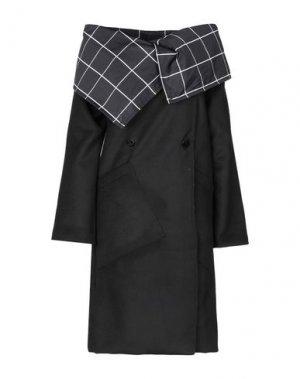 Пальто PIANURASTUDIO. Цвет: черный