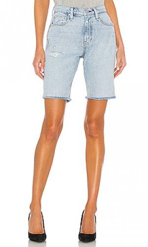 Джинсовые шорты freya Hudson Jeans. Цвет: none