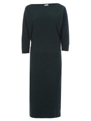 Кашемировое платье-миди CRUCIANI