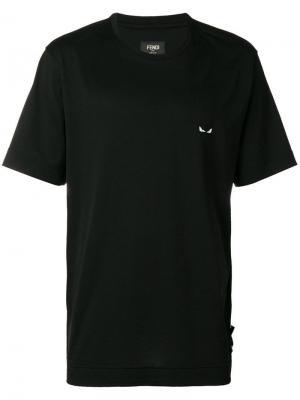 Short-sleeve T-shirt Fendi. Цвет: черный