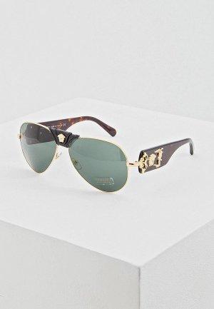 Очки солнцезащитные Versace VE2150Q 100271. Цвет: золотой