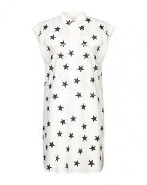 Короткое платье 8PM. Цвет: белый