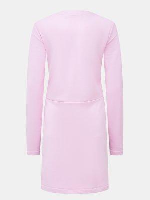 Платье Love Moschino. Цвет: rozovyy