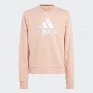Джемпер Future Icons Logo Sportswear adidas. Цвет: серебристый