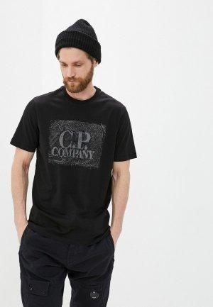 Футболка C.P. Company. Цвет: черный