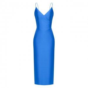 Платье-миди Rasario. Цвет: синий