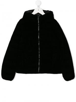 Дутая куртка Ciesse Piumini Junior. Цвет: черный