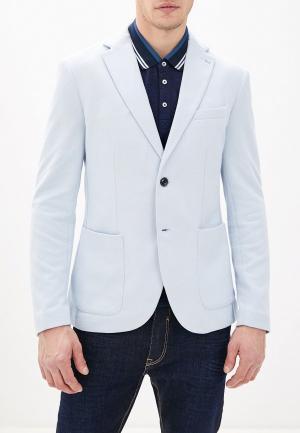 Пиджак Celio. Цвет: голубой