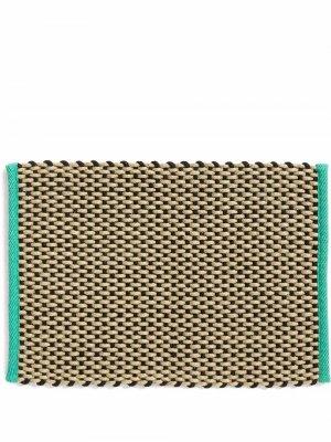 Плетеный придверный коврик HAY. Цвет: коричневый