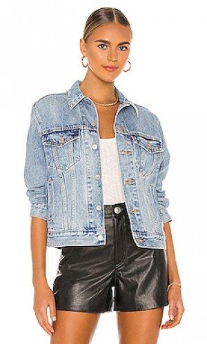 Джинсовая куртка ex-boyfriend LEVIS LEVI'S. Цвет: синий