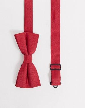 Красный галстук-бабочка Twisted Tailor