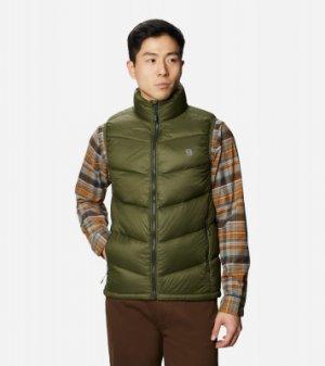 Жилет пуховый мужской Mt. Eyak™, размер 54 Mountain Hardwear. Цвет: зеленый
