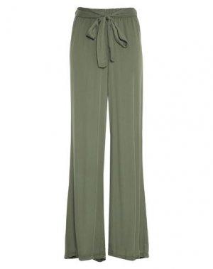 Повседневные брюки DIMENSIONE DANZA. Цвет: зеленый-милитари