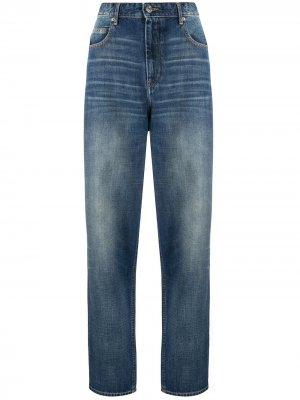 Зауженные джинсы Isabel Marant Étoile. Цвет: синий