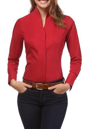 Рубашка Vincenzo Boretti. Цвет: красный