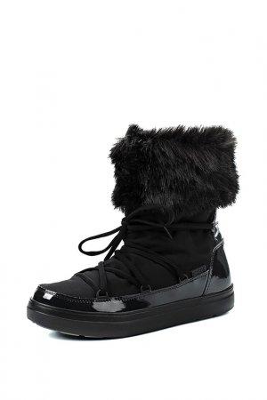 Сапоги Crocs. Цвет: black
