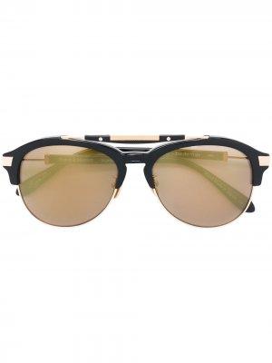 Солнцезащитные очки Luzdelviaje Frency & Mercury. Цвет: черный