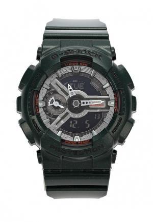 Часы Casio G-SHOCK GMA-S110MC-3A. Цвет: зеленый