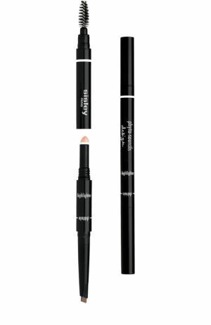 Моделирующий карандаш для бровей 3 в 1 Sisley. Цвет: бесцветный